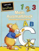 Mein Ausmalblock - Buchstaben und Zahlen