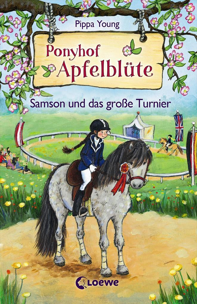 Ponyhof Apfelblüte - Samson und das große Turnier als Buch