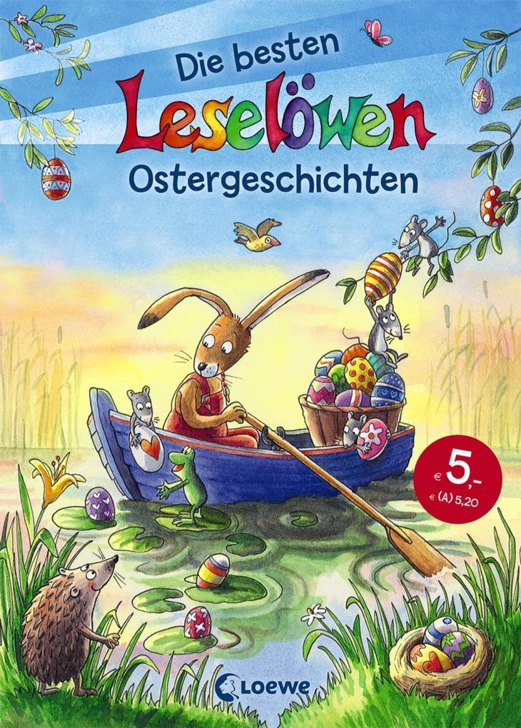 Leselöwen - Die besten Leselöwen-Ostergeschichten als Buch
