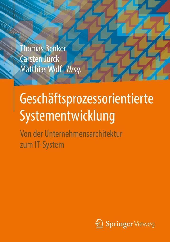 Geschäftsprozessorientierte Systementwicklung a...