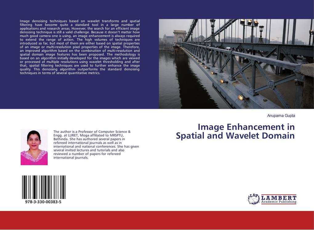 Image Enhancement in Spatial and Wavelet Domain...