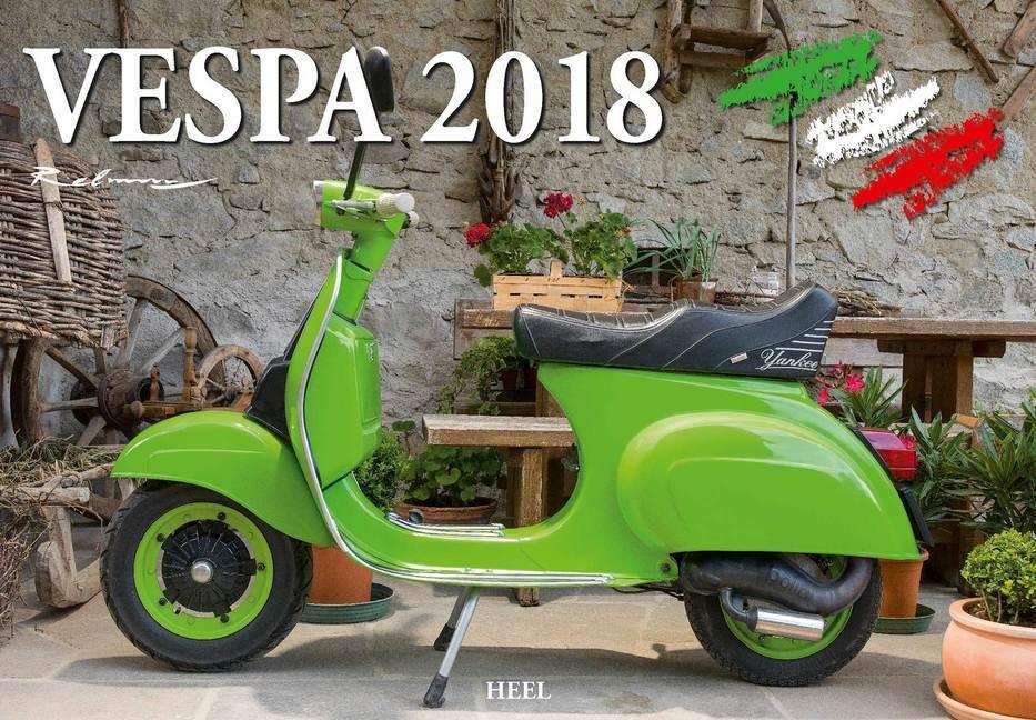 Vespa 2018 als Kalender