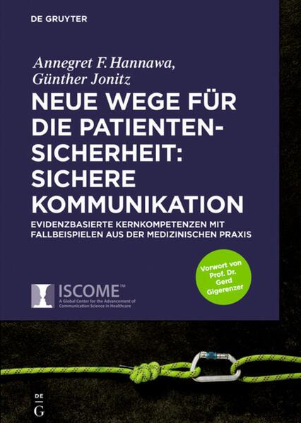 Neue Wege für die Patientensicherheit: Sichere Kommunikation als Buch