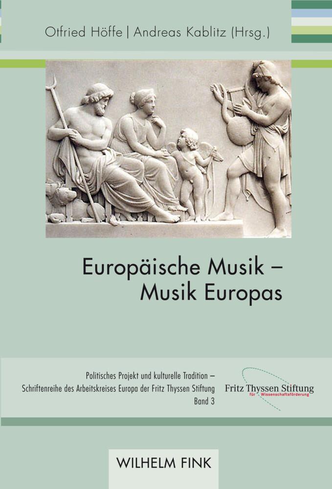 Europäische Musik - Musik Europas als Buch von