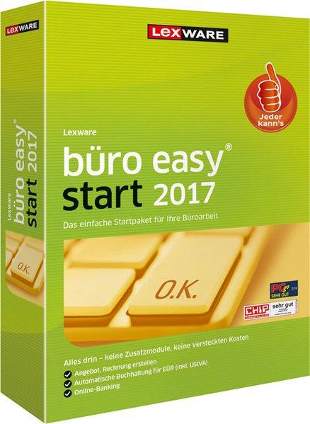 Lexware büro easy start 2017, 1 DVD-ROM