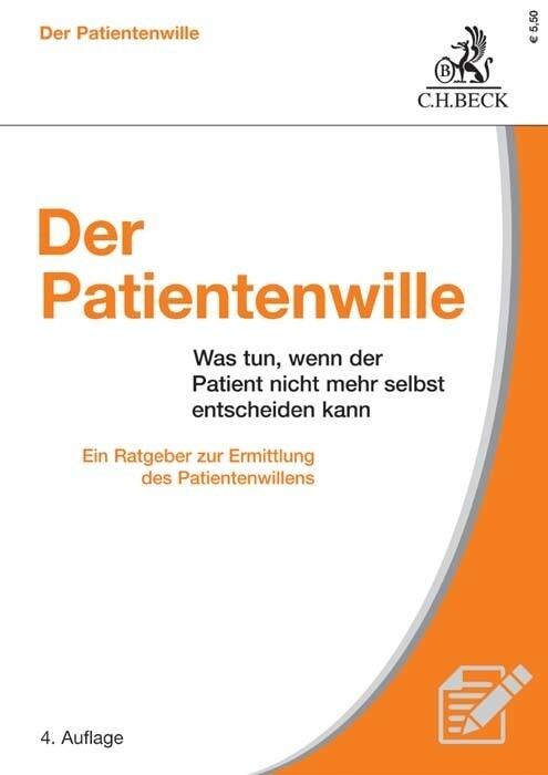 Der Patientenwille als Buch