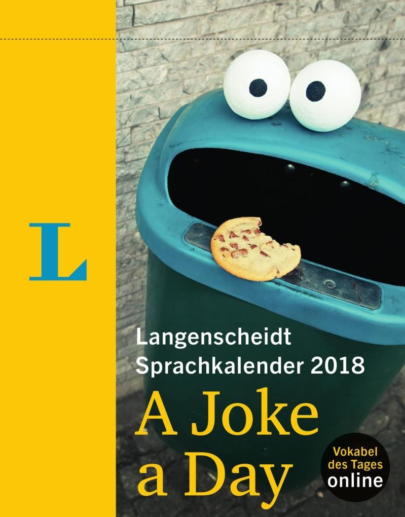 Langenscheidt Sprachkalender 2018 A Joke a Day Abreißkalender als Kalender