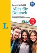 """Langenscheidt Alles für Deutsch - """"3 in 1"""": Kurzgrammatik, Grammatiktraining und Verbtabellen"""