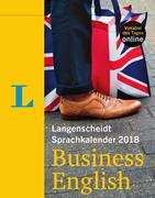 Langenscheidt Sprachkalender 2018 Business English Abreißkalender