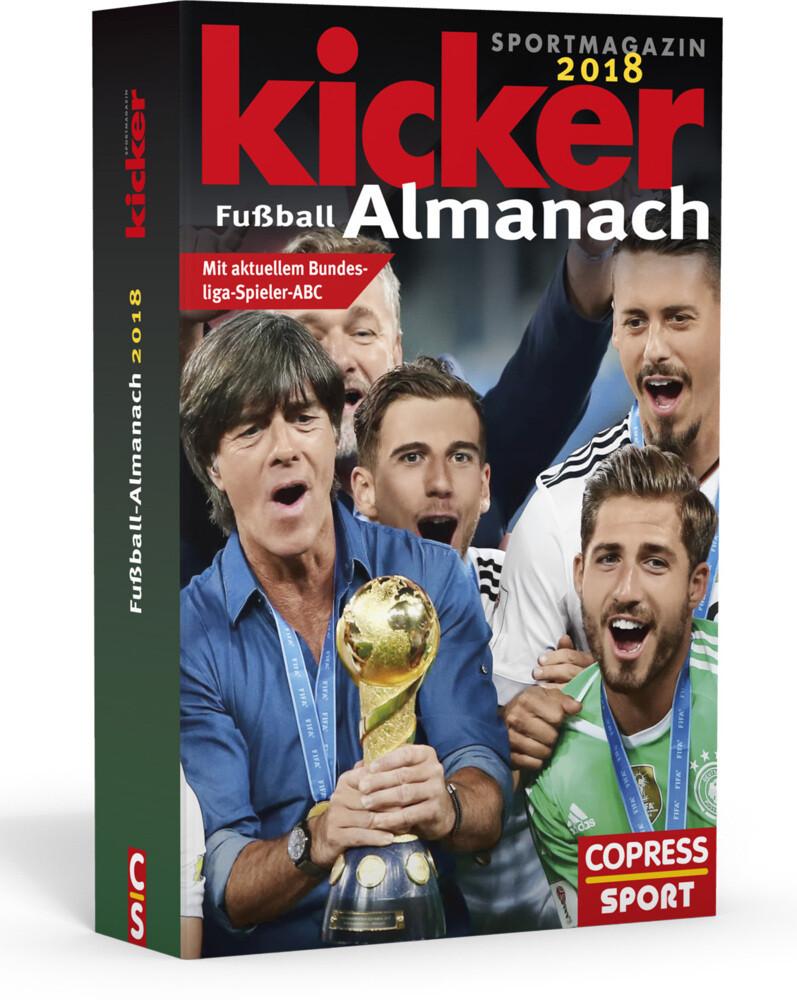 Kicker Fußball-Almanach 2018 als Buch von