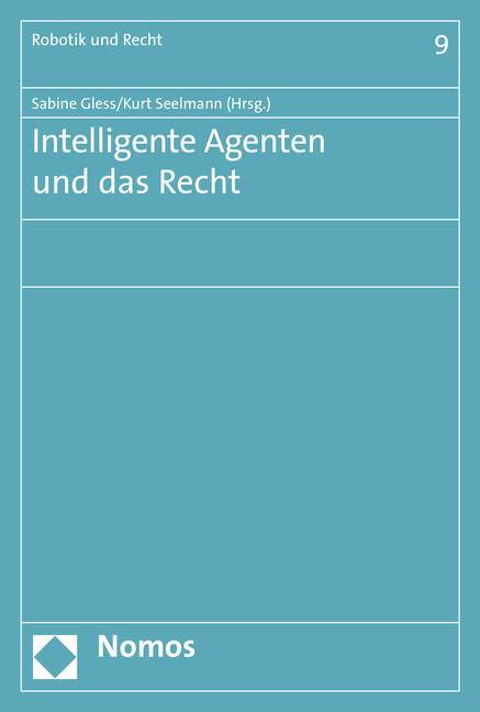 Intelligente Agenten und das Recht als Buch (kartoniert)