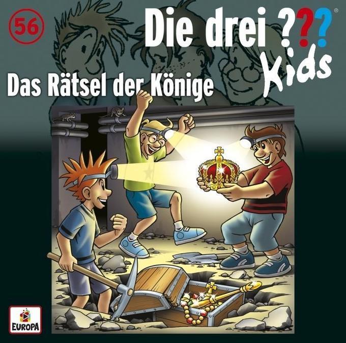 Die drei ??? Kids 56: Das Rätsel der Könige als Hörbuch