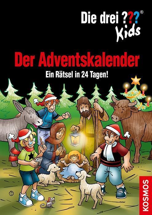 Die drei ??? Kids Adventskalender 8 (drei Fragezeichen) als Buch