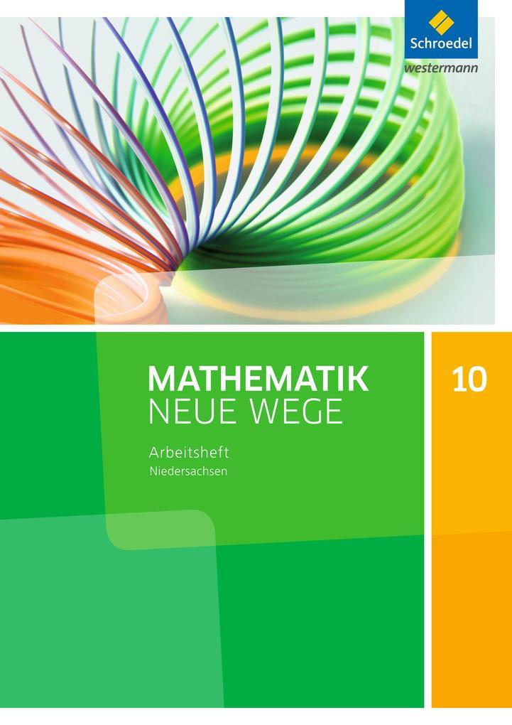 Mathematik Neue Wege 10. Arbeitsheft. S1. G9. Niedersachsen als Buch (geheftet)