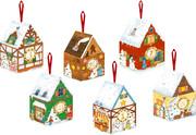 Coppenrath Verlag - 24 winterliche Adventshäuschen, Adventskalender zum Befüllen
