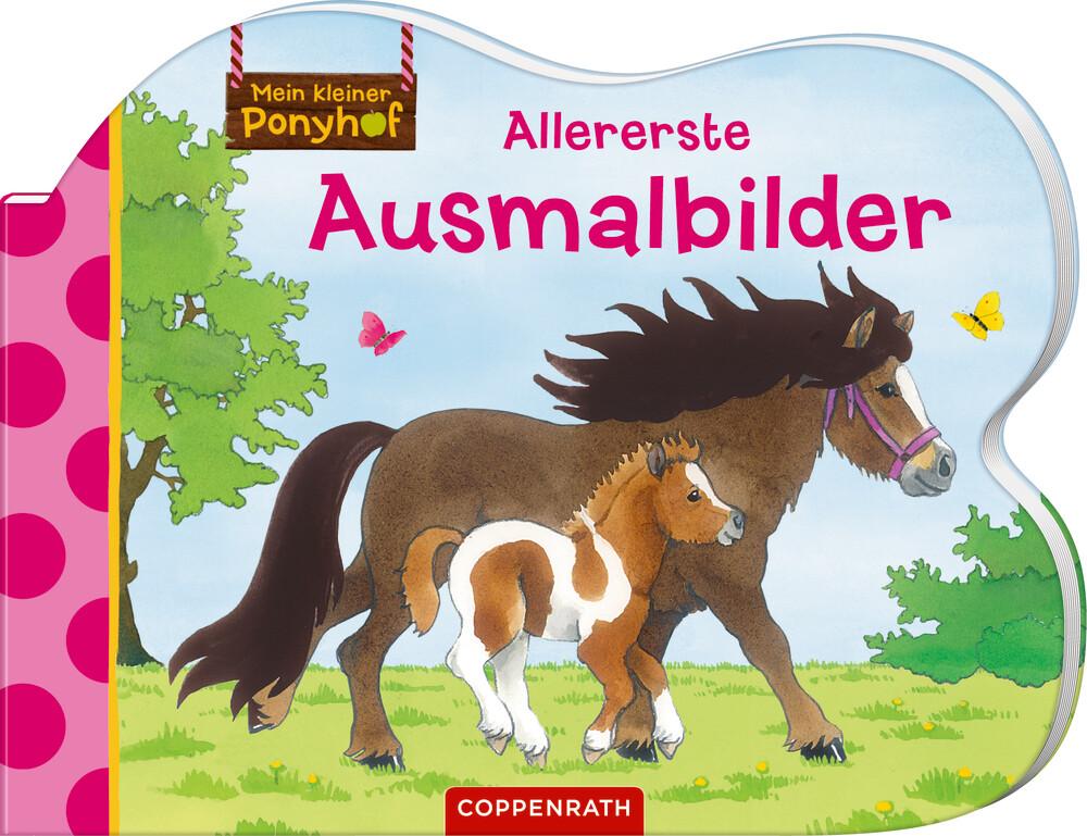 Mein kleiner Ponyhof: Allererste Ausmalbilder (Buch)