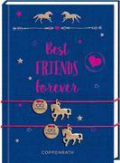 Büchlein mit Armband - Pferdefreunde - Best Friends Forever
