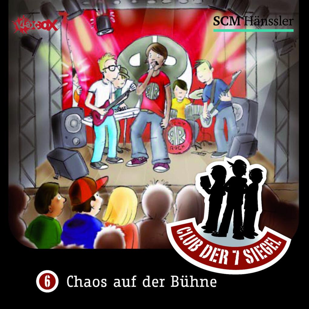 Chaos auf der Bühne als Hörbuch Download von Ch...
