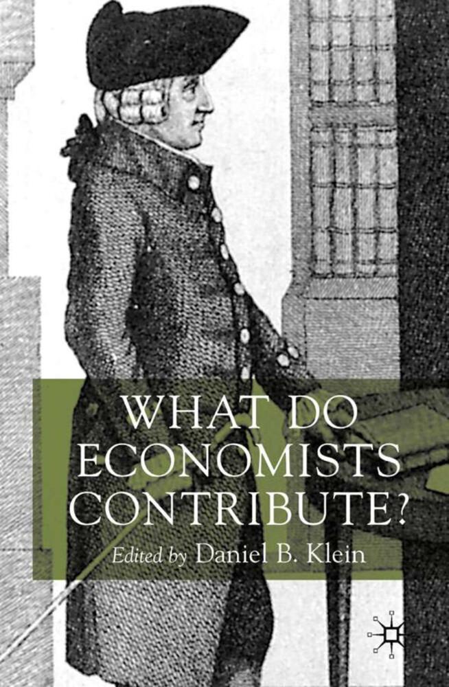 What Do Economists Contribute? als Buch