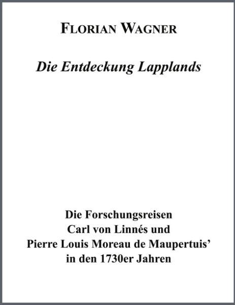 Die Entdeckung Lapplands als Buch