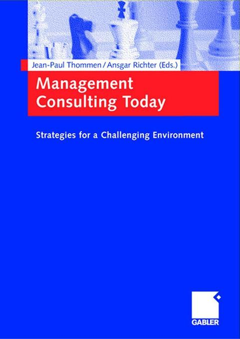 Management Consulting Today als Buch