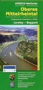 Unesco-Welterbe Oberes Mittelrheintal 2. Loreley - Boppard. 1 : 25 000