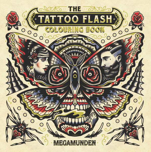 The Tattoo Flash Colouring Book als Buch von ME...