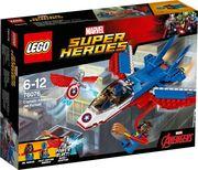 LEGO® Marvel Super Heroes - 76076 Captain America: Düsenjet