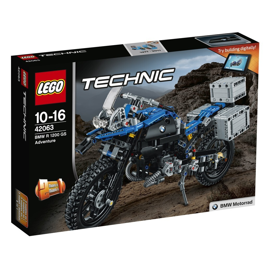 LEGO® Technic - 42063 BMW R 1200 GS Adventure