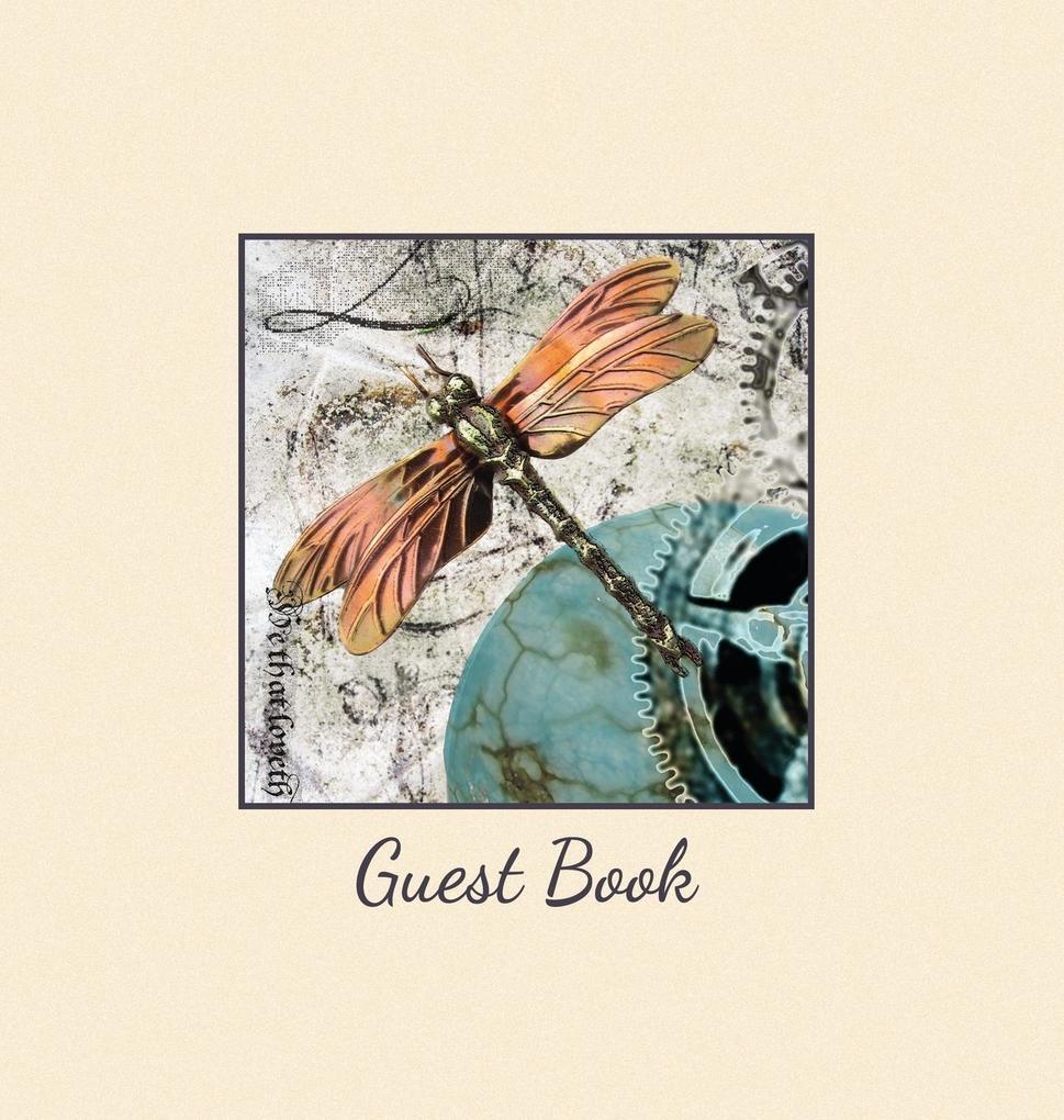 HARDBACK GUEST BOOK, Visitors Book, Comments Bo...