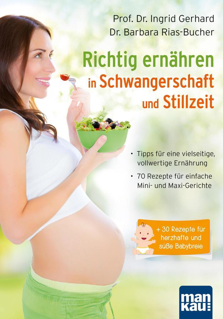 Richtig ernähren in Schwangerschaft und Stillzeit als eBook