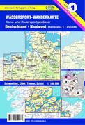 Wassersportkarte Blatt 1 Nordwest 1:450 000