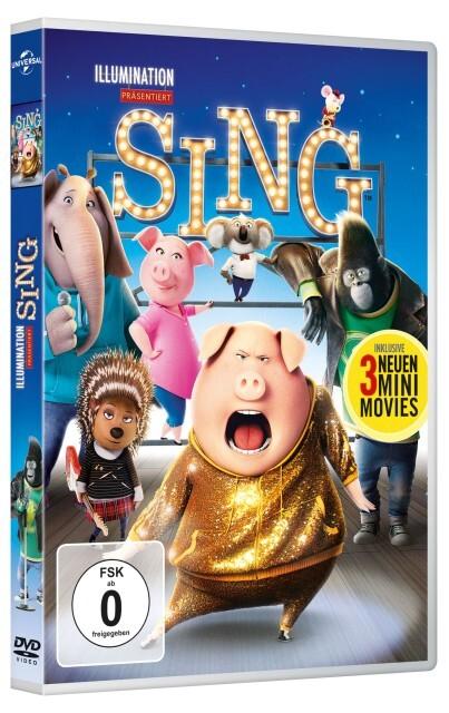 Sing als DVD