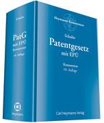 Patentgesetz mit Europäischem Patentübereinkommen