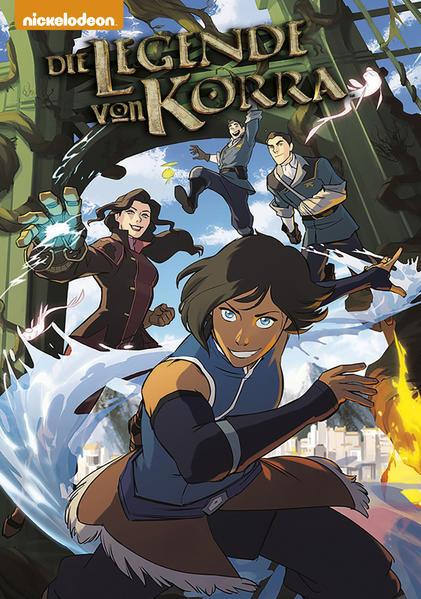 Die Legende von Korra 1. Revierkämpfe 1 als Buch