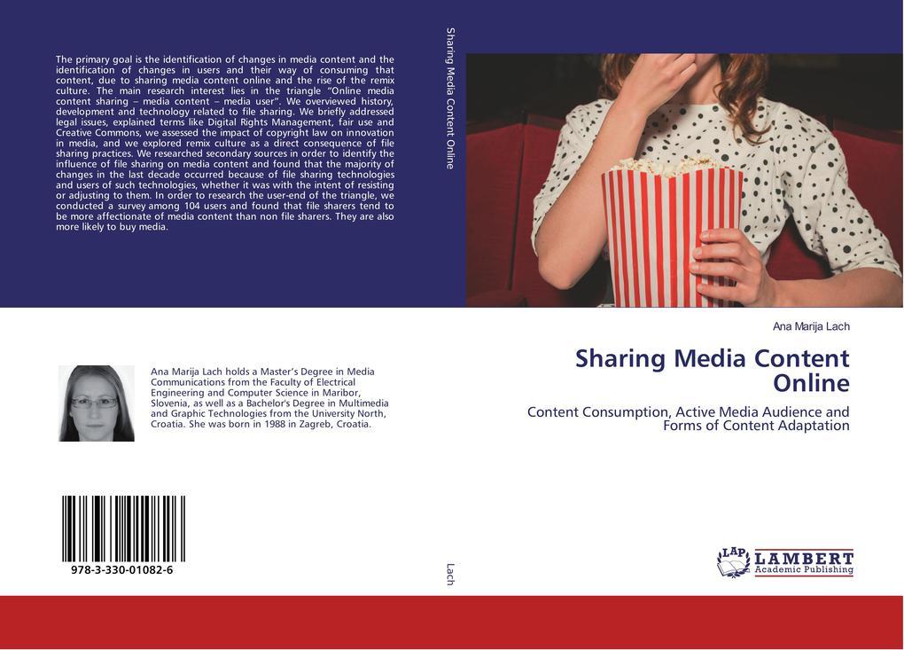 Sharing Media Content Online als Buch von Ana M...