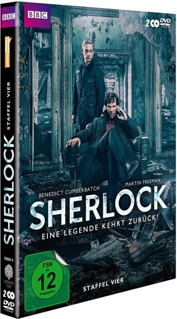 Sherlock - Staffel 4 als DVD