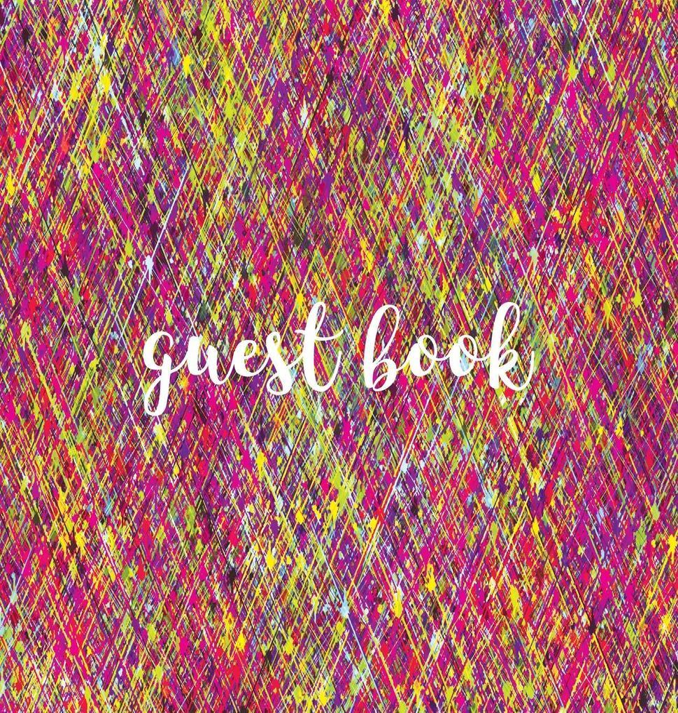 Guest Book (HARDBACK), Visitors Book, Guest Com...
