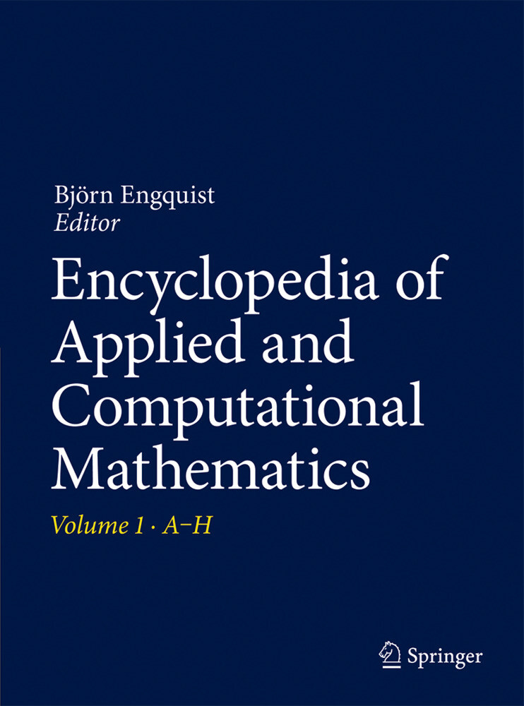Encyclopedia of Applied and Computational Mathematics als Buch (kartoniert)