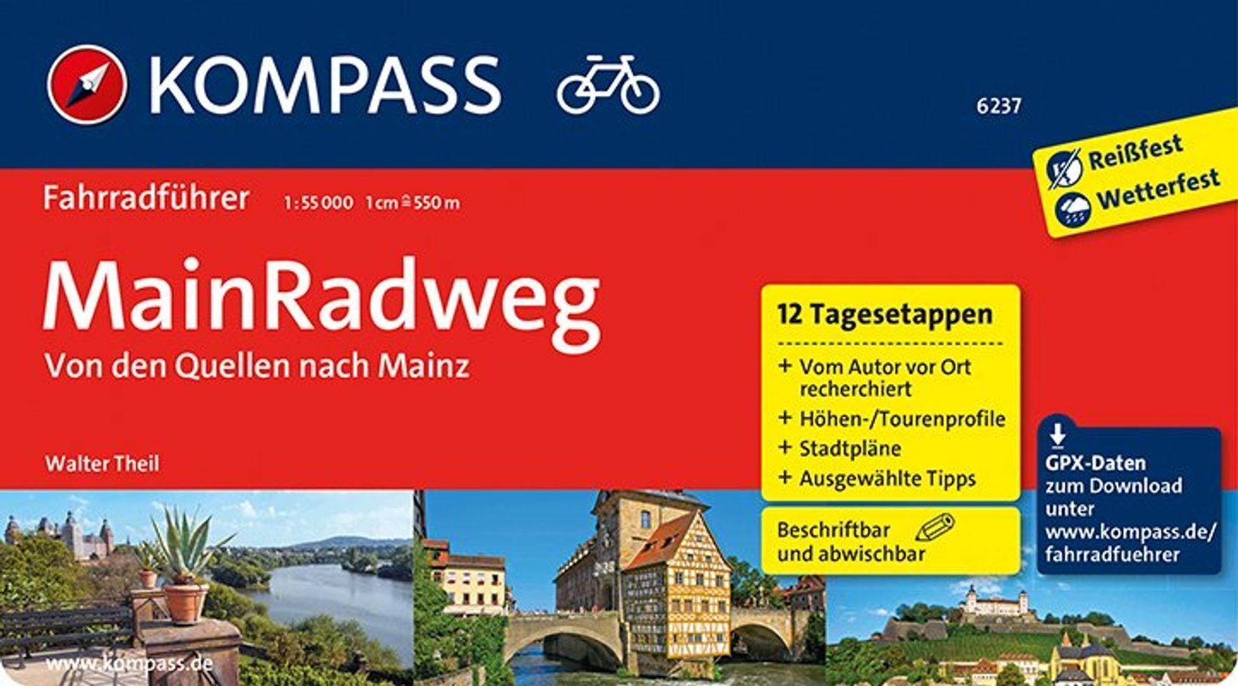 MainRadweg, Von den Quellen nach Mainz als Buch