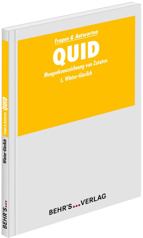 QUID als Buch von Frau Laura Winter-Gierlich