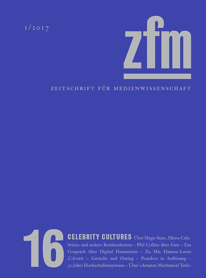 Zeitschrift für Medienwissenschaft 16 als Buch von