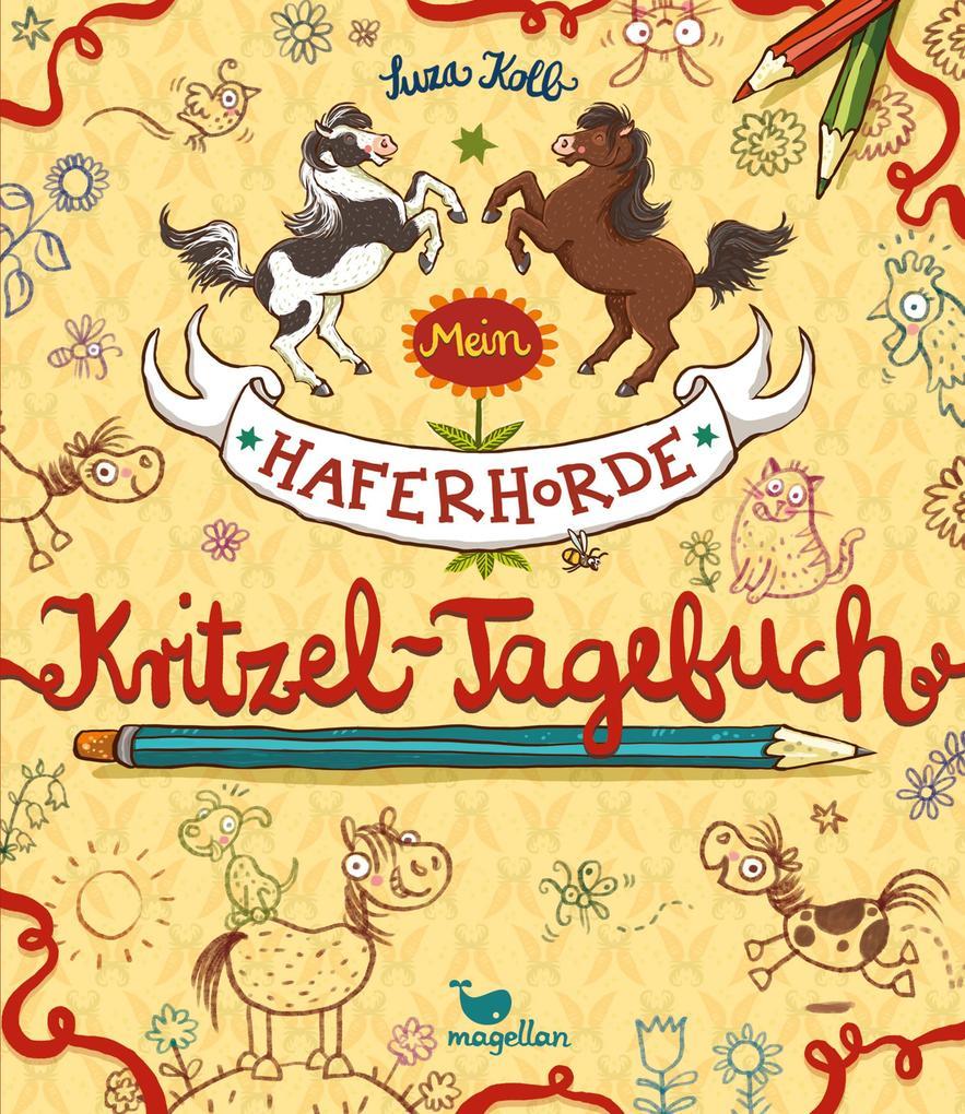 Mein Haferhorde-Kritzel-Tagebuch als Buch