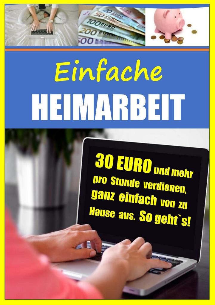 Einfache Heimarbeit - 30 EURO und mehr pro Stun...