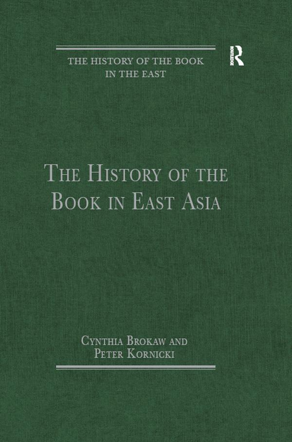 History of the Book in East Asia als eBook Down...