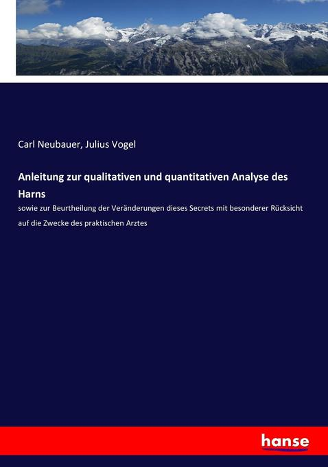 Anleitung zur qualitativen und quantitativen An...