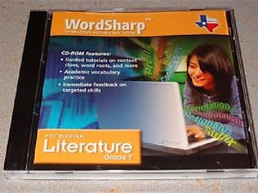 Holt McDougal Literature: Wordsharp Vocab Tutor Grade 7