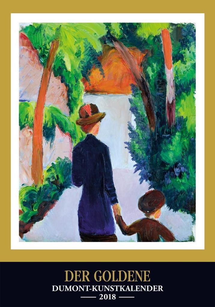 Der Goldene DuMont Kunstkalender 2018