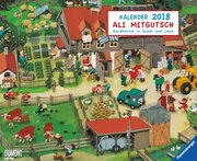 Ali Mitgutsch 2018 - Wimmelbilder - DUMONT Kinderkalender
