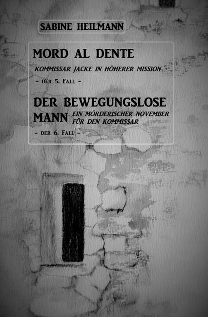 Mord al dente, Der bewegungslose Mann als Buch